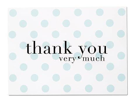 Amazon.com: Luxye - Tarjeta de agradecimiento con lunares ...