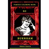 Bo Burnham Famous Coloring Book: Whole Mind Regeneration and Untamed Stress Relief Coloring Book for Adults (Bo Burnham Famou