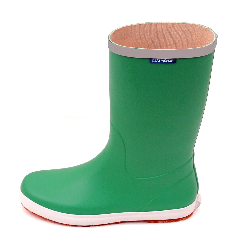 Luckers Women's Trendy Foldable Wellies Rain Boots B076B5SH5W 7 M US|Green