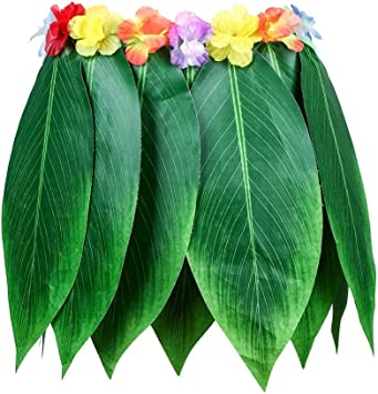 Prom-Note Falda de fiesta hawaiana Hula niña disfraz de fiesta de ...