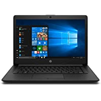 HP 14 ck0119tu 2019 14-inch Laptop (7th Gen i3-7020U/4GB/1TB/Windows 10 Home/Integrated Graphics), Jet Black