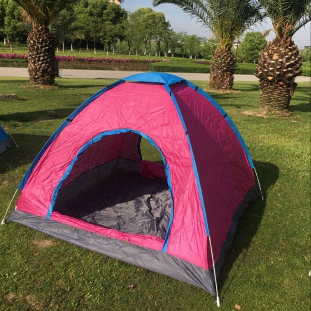 JM- Carpa para Exteriores, Carpa Familiar instantánea Carpas emergentes automáticas Impermeables para Deportes al Aire Libre Camping Senderismo Playa de Viaje Purple