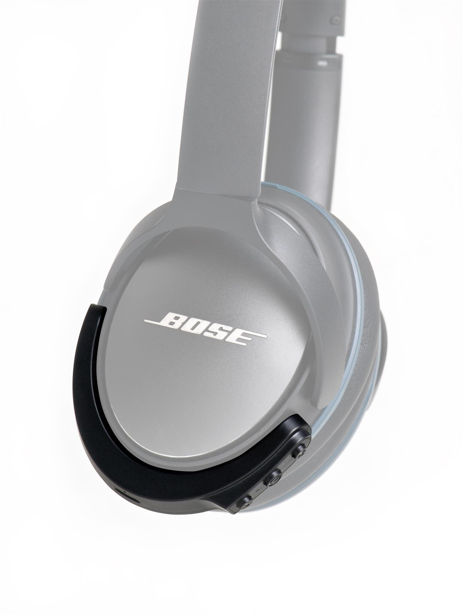 BTunes Wireless Bluetooth Adapter for Bose Quiet Comfort 25 Headphones (New for QC25) (Black)