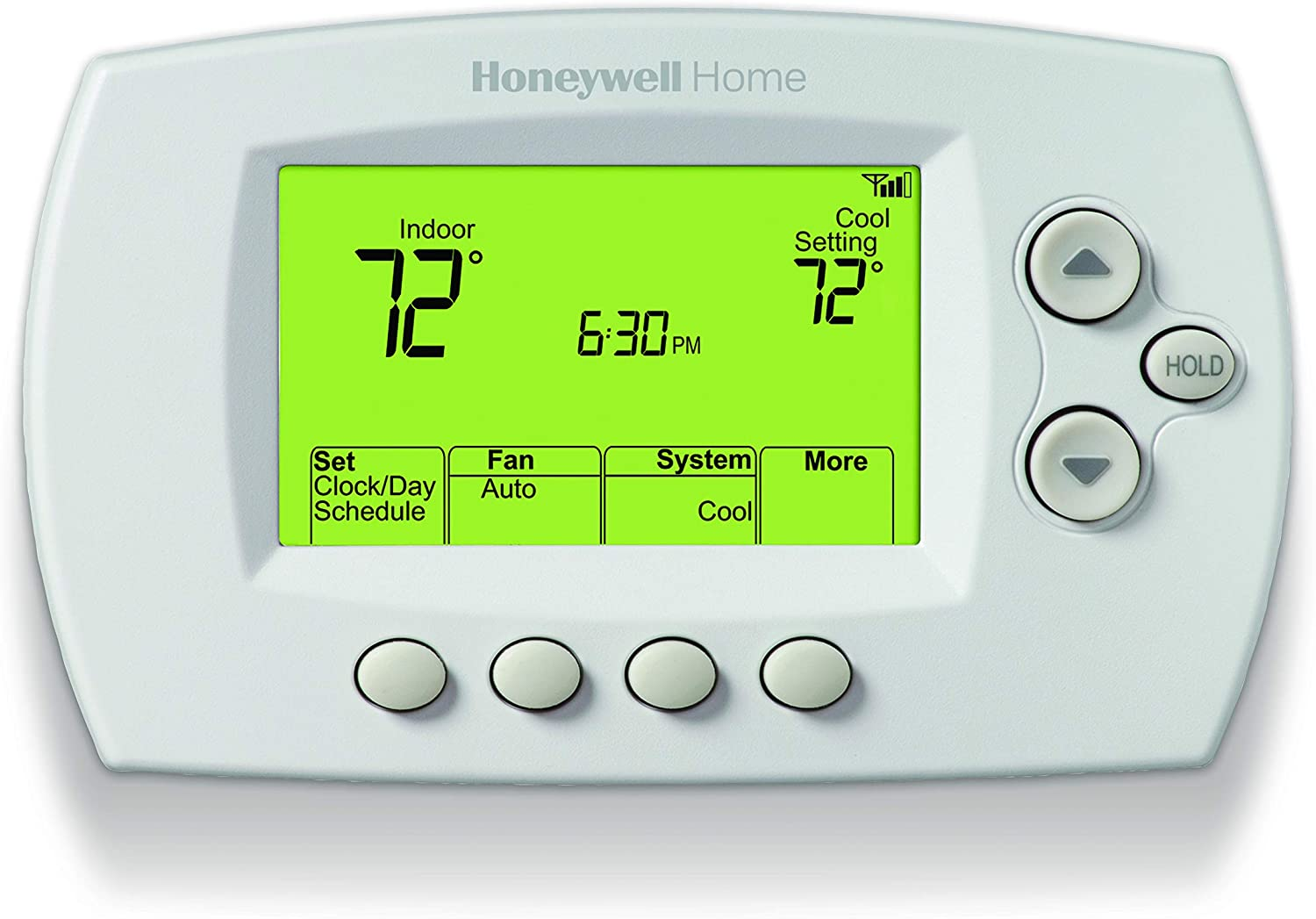 Honeywell Thermostat Wi FI 40 Jours, Blanc, Taille Unique