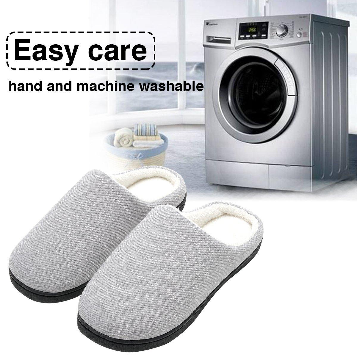 Zapatilla de Estar por Casa para Mujer Fluff Antideslizantes Zapatillas Casa Ultraligero C/ómodo y Antideslizante Zapatillas de Casa de Mujer Invierno