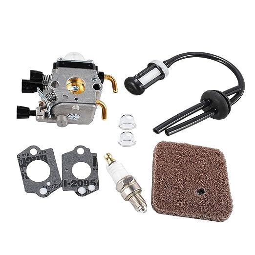 Kit de Carburador Filtro de Combustible Herramientas Manuales ...