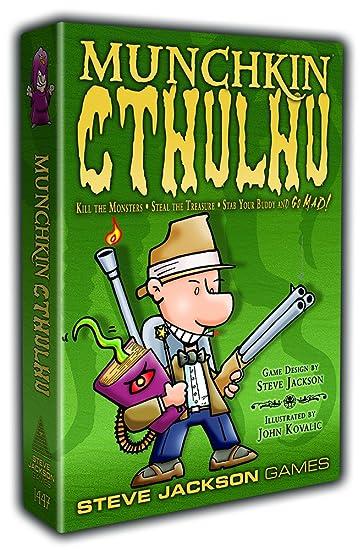 Steve Jackson Games 1447 - Munchkin Cthulhu (englische Ausgabe ...