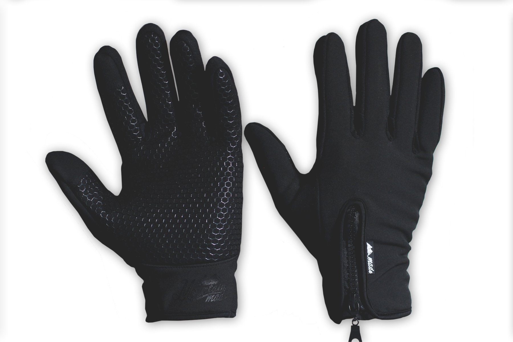 Mountain Made Cold Weather Genesis Gloves for Men & Women, Medium, Black by Mountain Made (Image #1)
