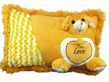 Tickles Dog Pillow Love Boy Girl Friend Gift