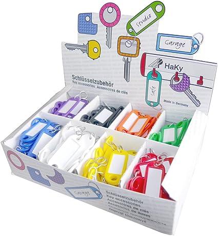 Wedo 2628034 - Pack de 200 llaveros: Amazon.es: Oficina y papelería