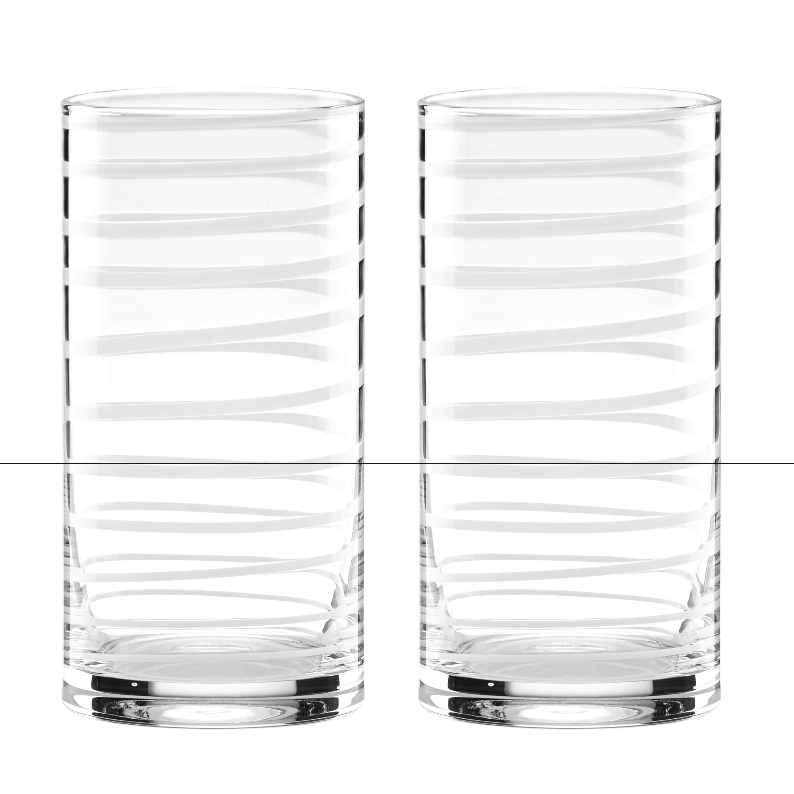 Kate Spade New York 871221 Charlotte Street highball glass