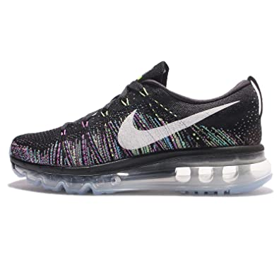 huge discount 20cc9 26273 Nike Women s WMNS Flyknit Max, Black Summit White-Ghost Green, ...