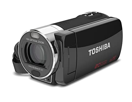 amazon com toshiba camileo x200 hd 1080p camcorder 12x optical rh amazon com Toshiba Camileo Clip Camcorder Toshiba Camcorder Camileo H20