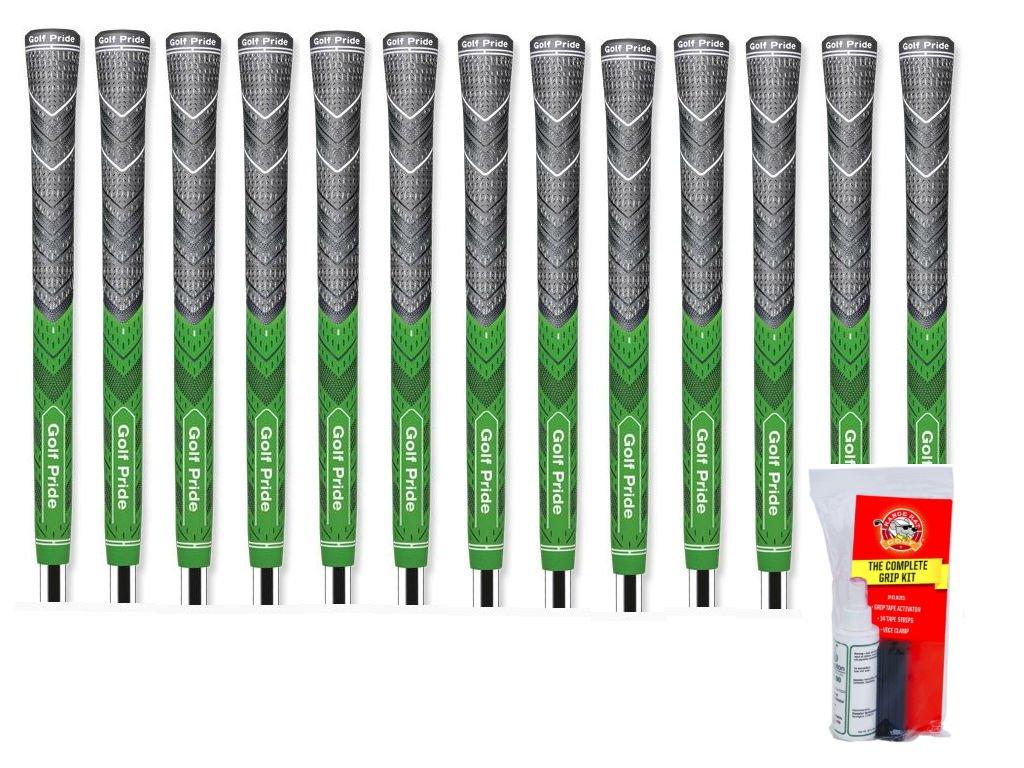 Golf Pride MCC Plus 4 Standard Green - 13 Piece Grip Kit