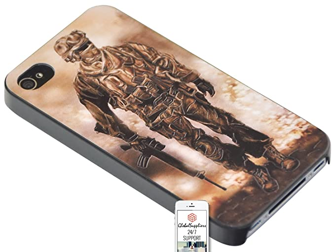 Amazon com: Case for Apple iPhone 4 / 4S Commando