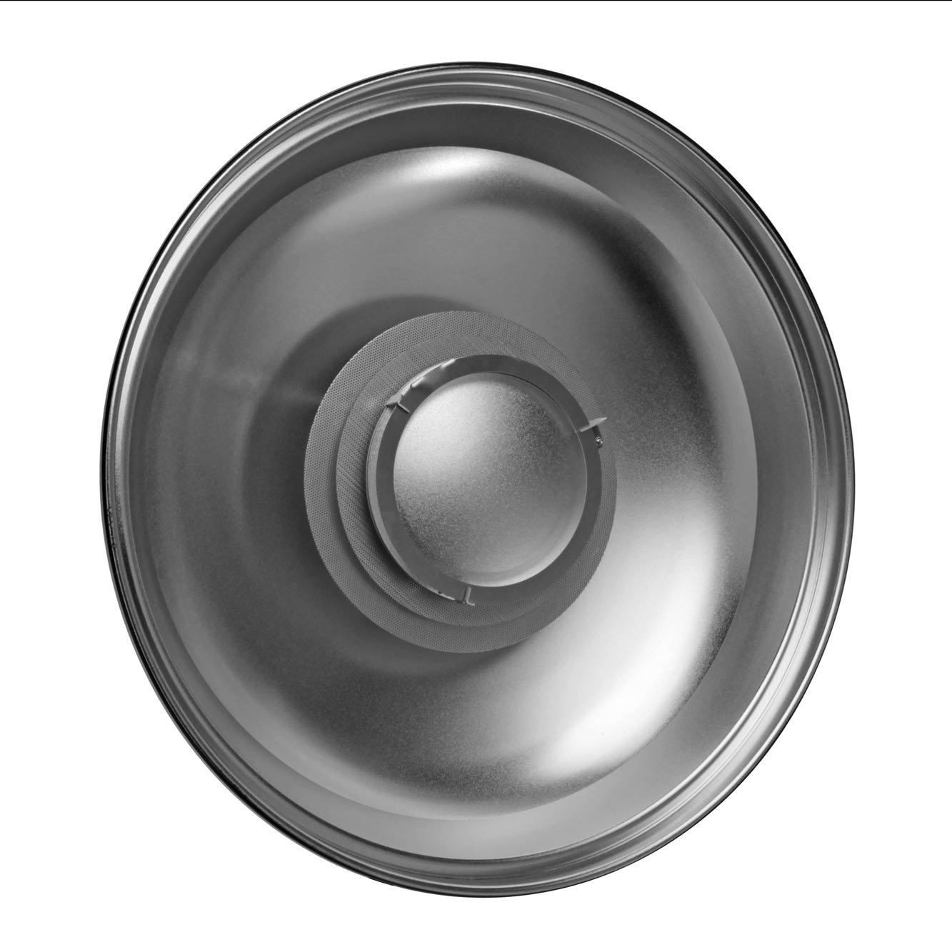 Hensel ACS ビューティーディッシュ VII リフレクター 22.04インチ (56cm) シルバー   B01EUXKX04