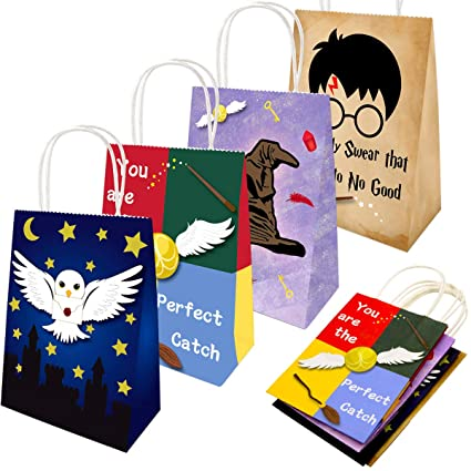 Amazon.com: Magic Wizard – Bolsas de regalo para fiesta ...