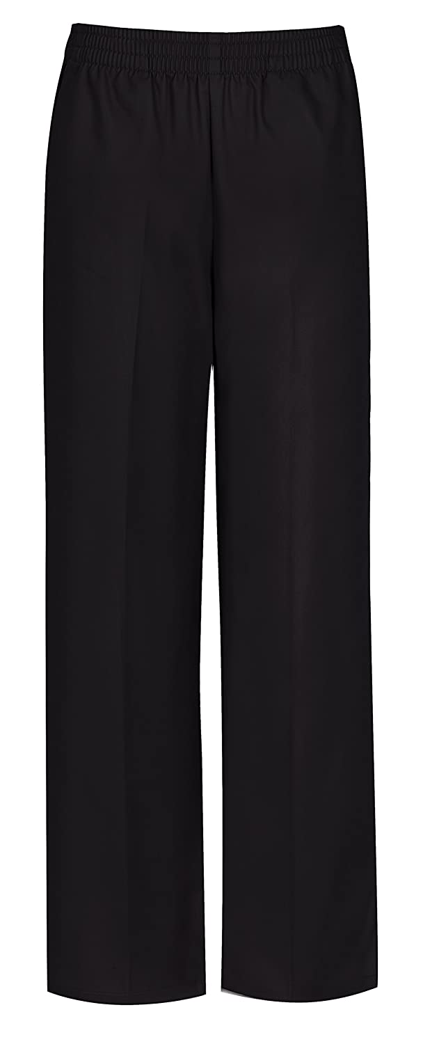 091675aa9a Amazon.com: CLASSROOM Little Boys' Uniform Pull-On Pant, Black, 7: School  Uniform Pants: Clothing