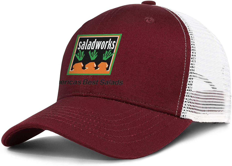 WintyHC Saladworks Logo Cowboy Hat Trucker Hat Adjustable Fits Gas Cap
