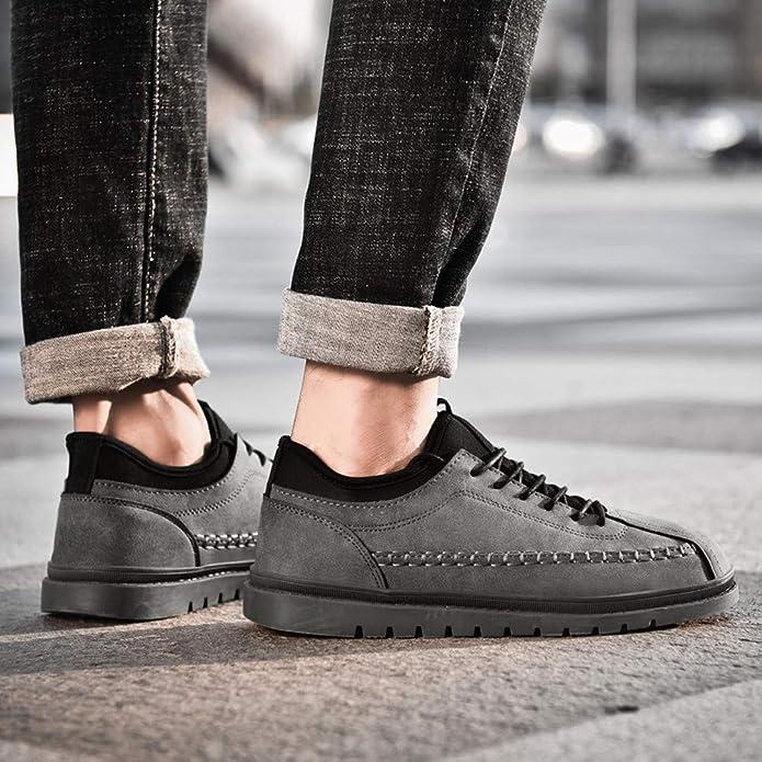 2925025db6fe8 Zapatos Hombre Black Friday Casuales Invierno Cupón Vouchers Zapato  Deportivo Casual de los Hombres de la Moda Zapatos Gruesos Planos Populares  de los ...