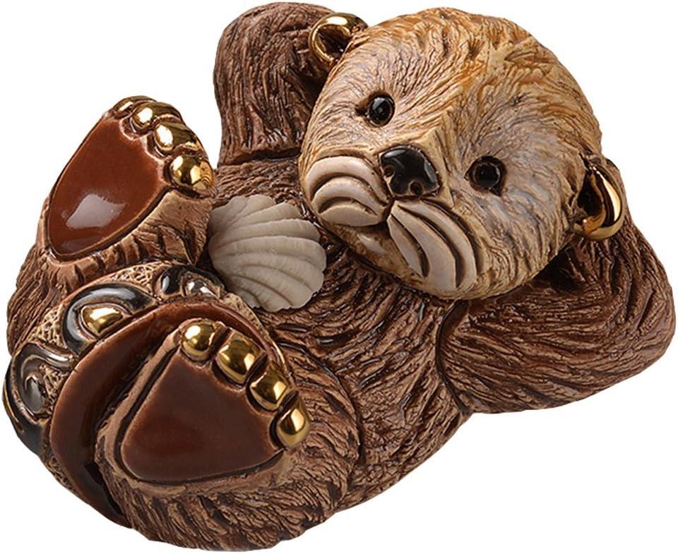 De Rosa Rinconada Baby Otter Home Decor Figurine