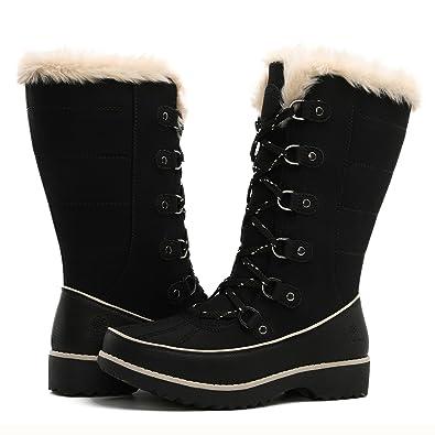 9c82b35f4c8 GLOBALWIN Women's Fur Trek Winter Boots
