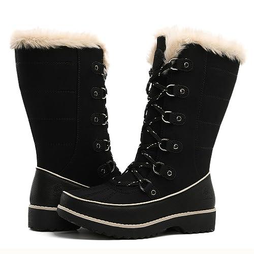 dedf1867713 GLOBALWIN Women's Fur Trek Winter Boots