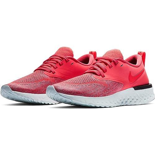 1de6c50f90b2a Nike Women's Odyssey React Flyknit 2 Ember Glow/Red Orbit/Plum Dust ...