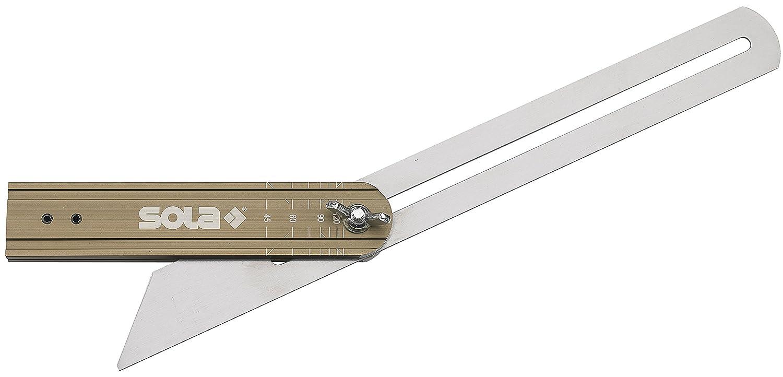 Sola 56052101 Schmiege mit GradanzeigeVSTG 250 Grey//Brown 250 mm