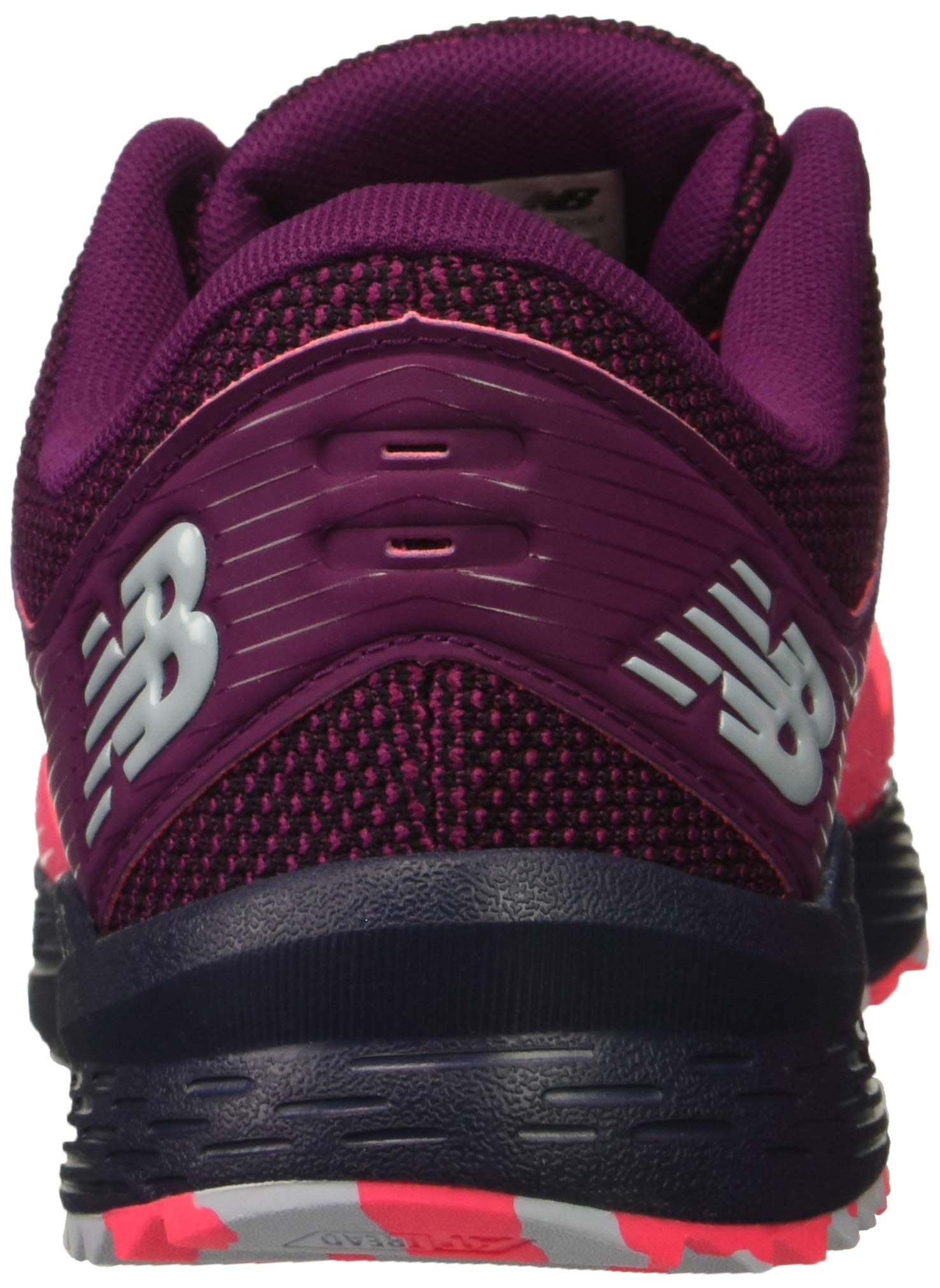 New Balance Women's Nitrel V2 FuelCore Trail Running Shoe Pink zing/Claret/Pigment 5 B US by New Balance (Image #2)