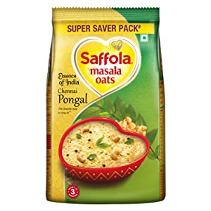 Saffola Masala Oats, Pongal Surprise, 500g