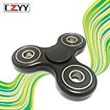 Amazon Price History for:CZYY Black Spinner Fidget EDC ADHD Focus Toy Ultra Durable High Speed Si3N4 Hybrid Ceramic Bearing 1-3 Min Spins , Non-3D Printed