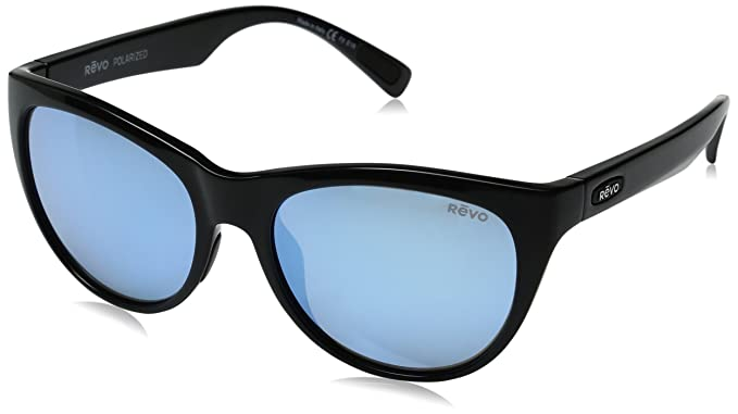 0f5e4de334 Amazon.com  Revo Barclay Sunglasses (Black Blue Water)  Clothing