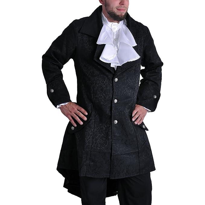 abrigo negro vestido - XL: Amazon.es: Ropa y accesorios