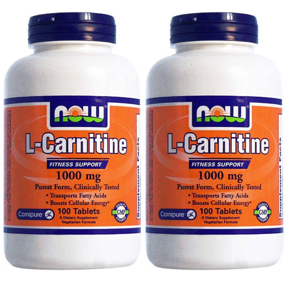 【2個セット】[ お得サイズ ] Lカルニチン 1000mg 100粒[海外直送品] B01KZF4FV4