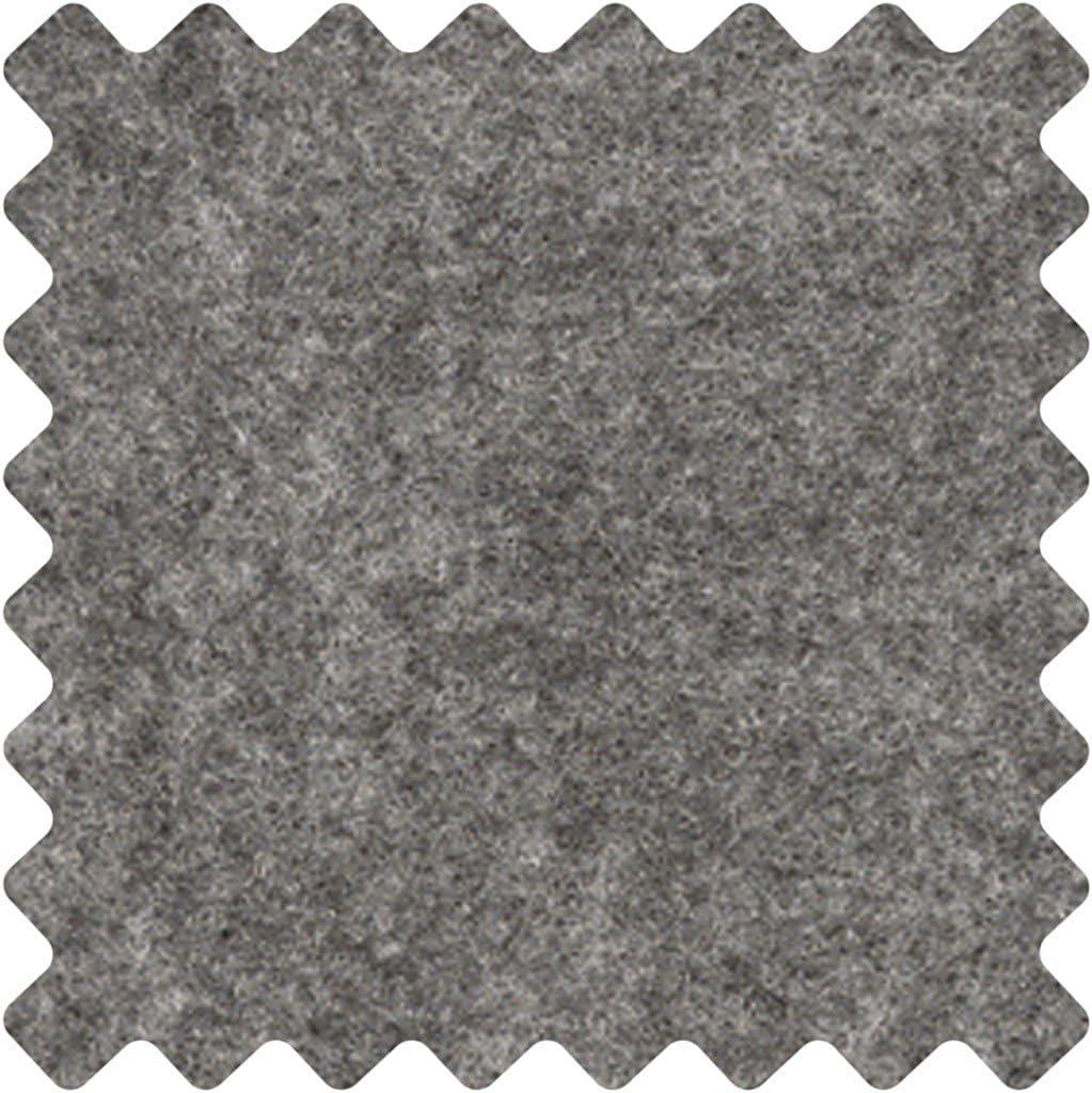 grey textured 5 m by Creativ Craft Felt W: 45 cm