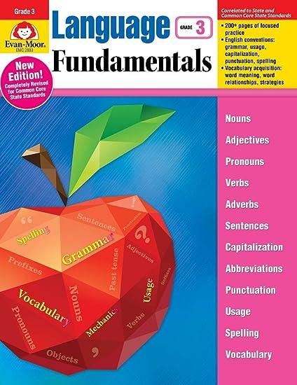 Language fundamentals grade 3 evan moor 9781629382197 amazon language fundamentals grade 3 fandeluxe Images