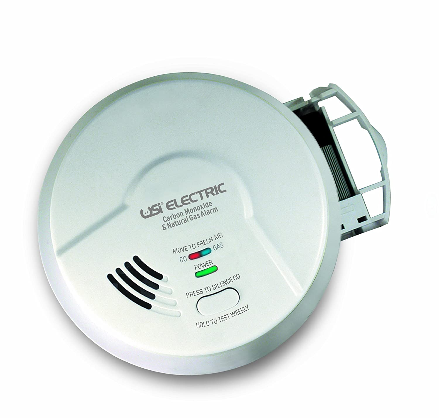 USI Electric MCN108 Hardwired 2-in-1 Carbon Monoxide and Natural Gas ...