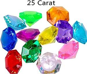 related image of             jollylife 36PCS Acrylic Diamond Gems Jewels Pirate