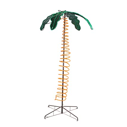 Amazon roman 7 tropical lighted holographic rope light outdoor roman 7 tropical lighted holographic rope light outdoor palm tree aloadofball Gallery