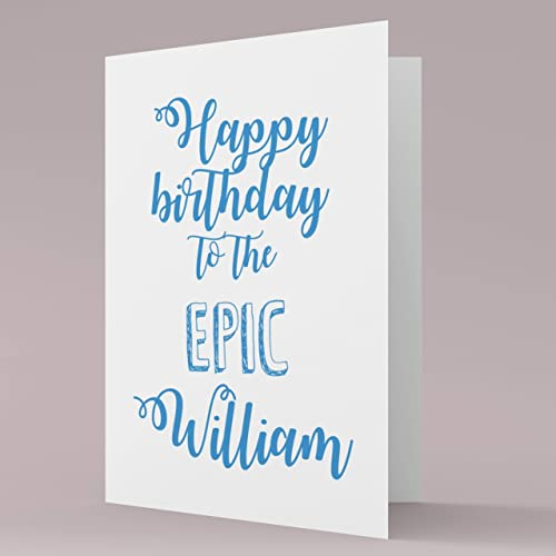 Personalised Birthday Card Greeting Cards Friends