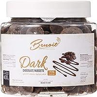 Benoit Dark Chocolate Nuggets 70% R70, 400 gm