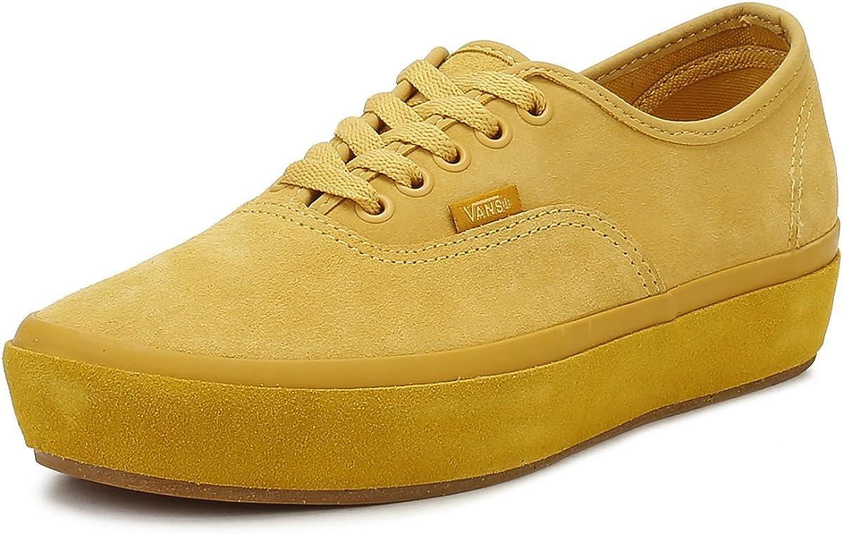 Vans Womens Ochre Yellow Authentic
