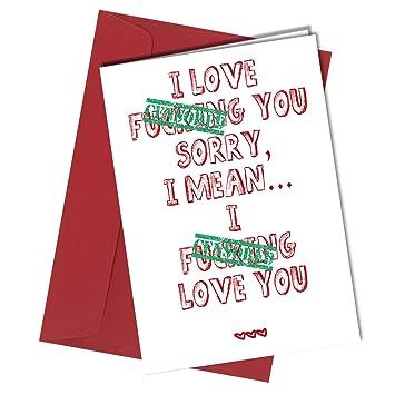 24 Valentines Or Birthday Card Boyfriend Or Girlfriend Rude Humorous