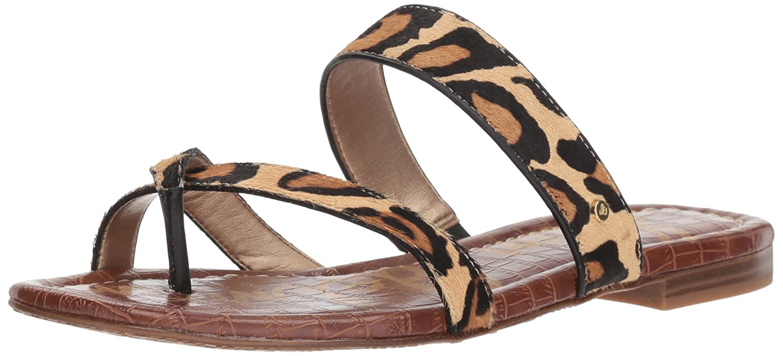 Sam Edelman Women's Bernice Slide Sandal B078HN57RZ 10.5 B(M) US|New Nude Leopard