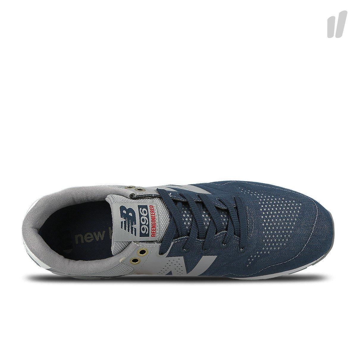 New Balance D 12 MRL996FT Couleur: Bleu marine Gris