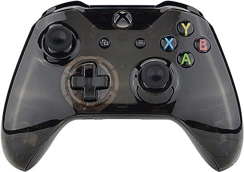 eXtremeRate Carcasa Mando Xbox One S X Protectora de la Placa Frontal Funda Delantera Cubierta Shell Kit