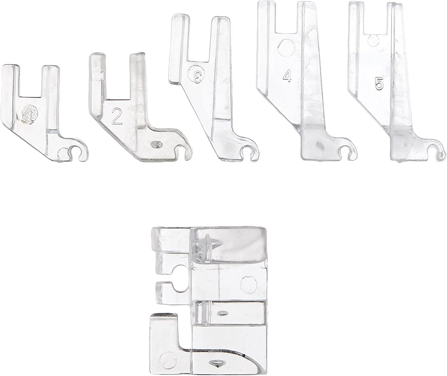 """Presser Foot JANOME Sewing CURVE MASTER 1//4/"""" Quilting"""