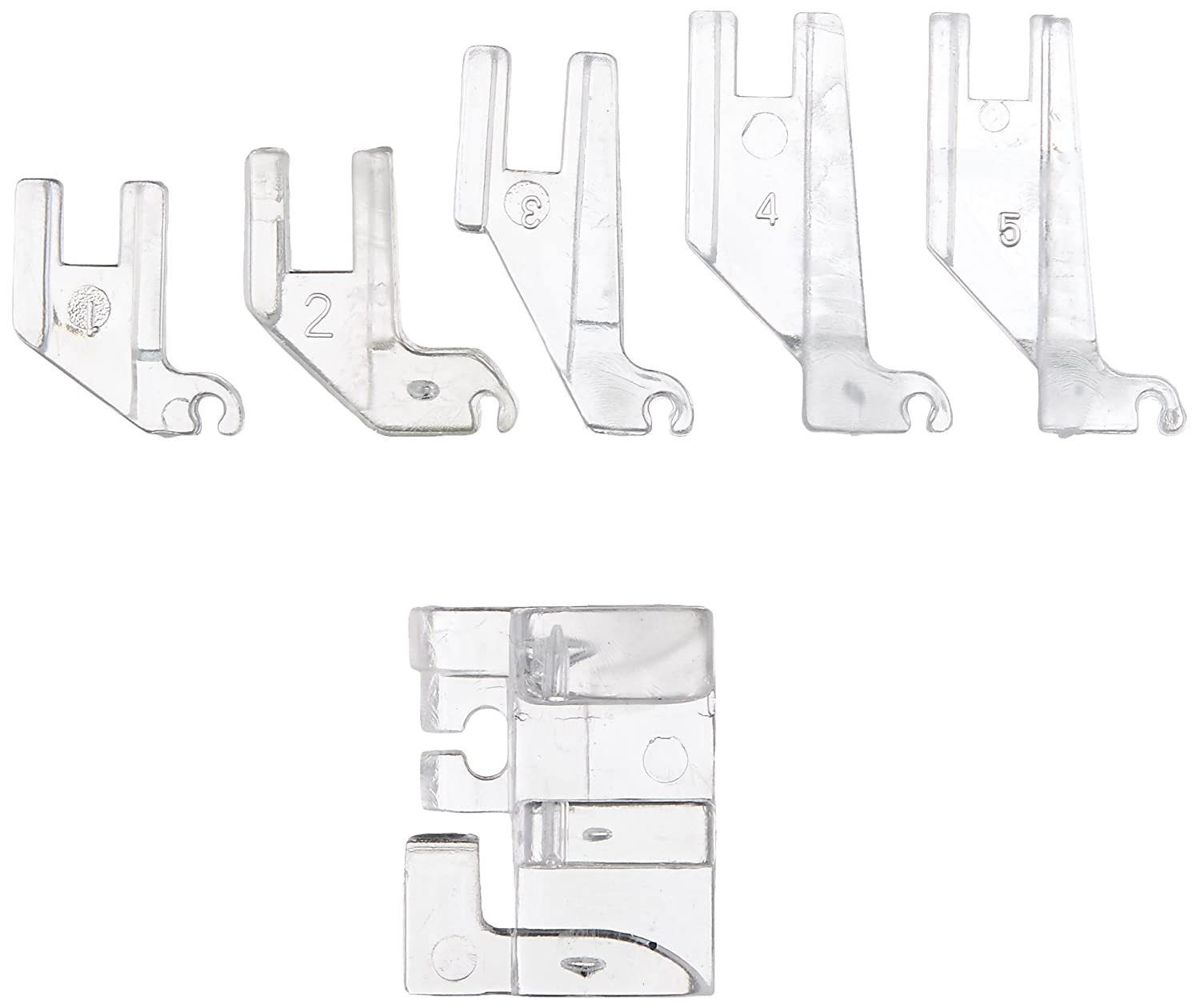 Curve Master Presser Foot - Invented by a Quilter for Quilters - Precise Guide for Scant 1/4 Curved & Straight Seams FBA_CM008-14