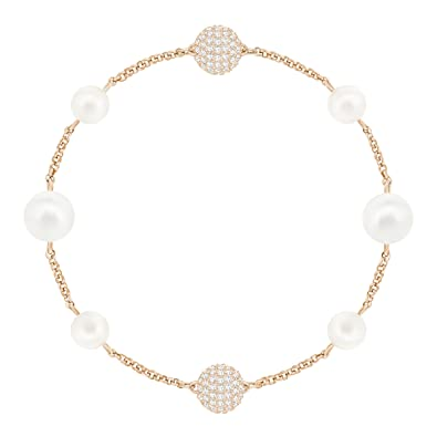 Afbeeldingsresultaat voor SWAROVSKI REMIX COLLECTION MIXED WHITE CRYSTAL PEARL, ROSE GOLD PLATING